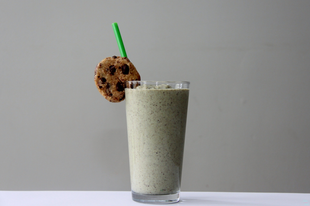 Chocolate Chip Cookie Protein Shake