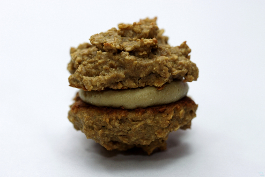 Peanut Butter Protein Power Cookie Sandwich