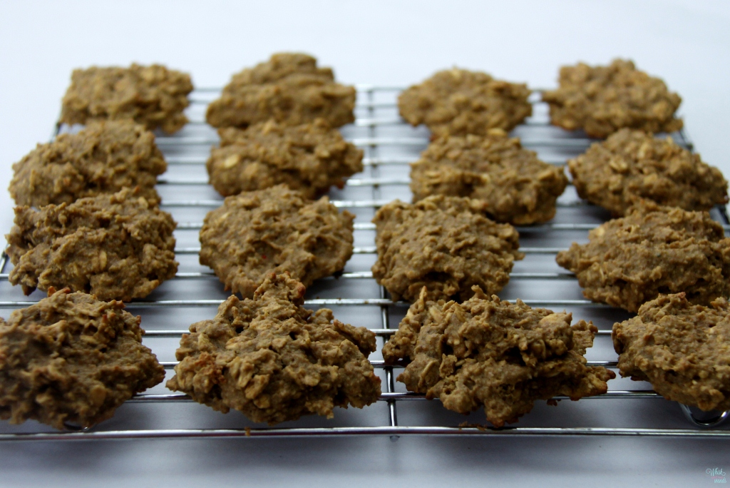 Peanut Butter Protein Power Cookies