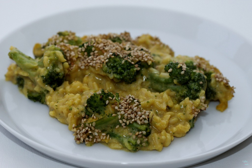 "Cheesy"" Broccoli and Rice"