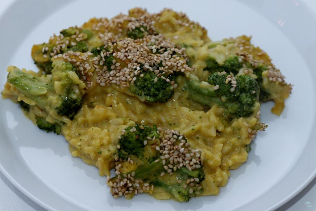 "Cheesy"" Broccoli and Rice"