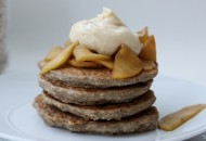 Oatmeal Apple PB Maple Pancakes3 WM Blog