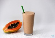 Papaya Chia Smoothie WM Blog