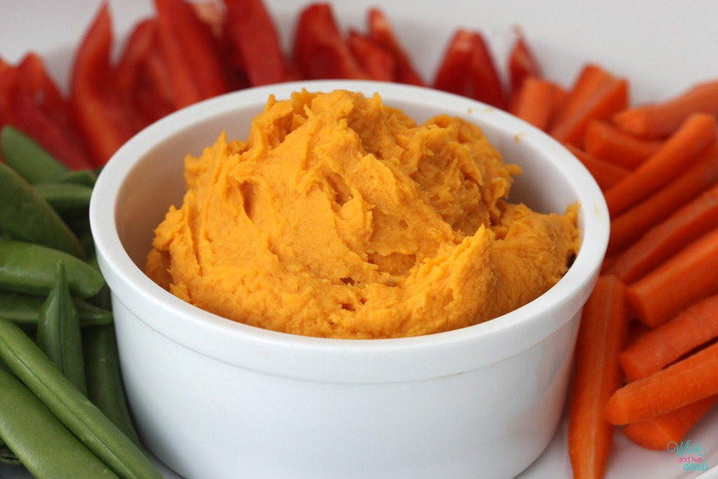 Sweet & Spicy Sweet Potato Hummus