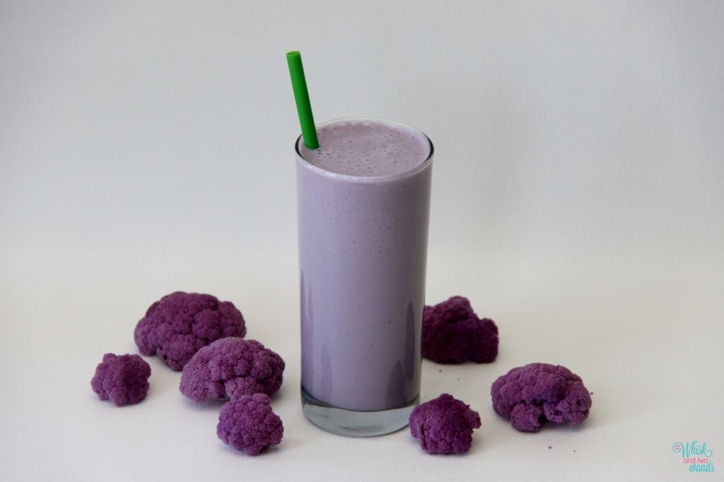 Purple Cauli-Power Smoothie