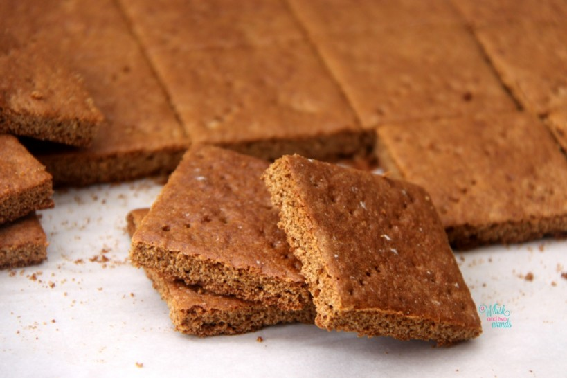 Graham Crackers (gluten free & vegan)