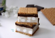 S'more Ice Cream Bars