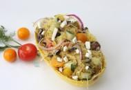 Mediterranean Spaghetti Squash Salad