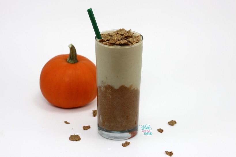 Pumpkin Cereal Protein Smoothie/Smoothie Bowl