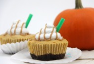 "Mini Pumpkin Spice Latte ""Cheesecakes"""