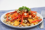 Thai Sweet Potato Nachos