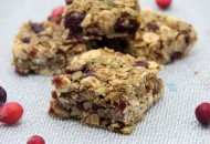 Cranberry Bliss Granola Bars, White Chocolate