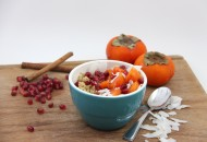 Persimmon Cranberry Chia Bowl