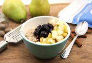 Cheery Cherry Pear Oatmeal