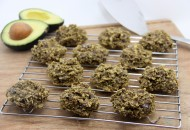 Avocado Chocolate Chip Oatmeal Cookies