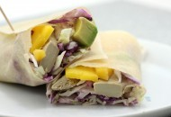 Mango Chicken Coconut Wrap