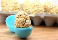 PB Popcorn Egg with sprinkles