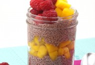 Raspberry Mango Chia Bowl