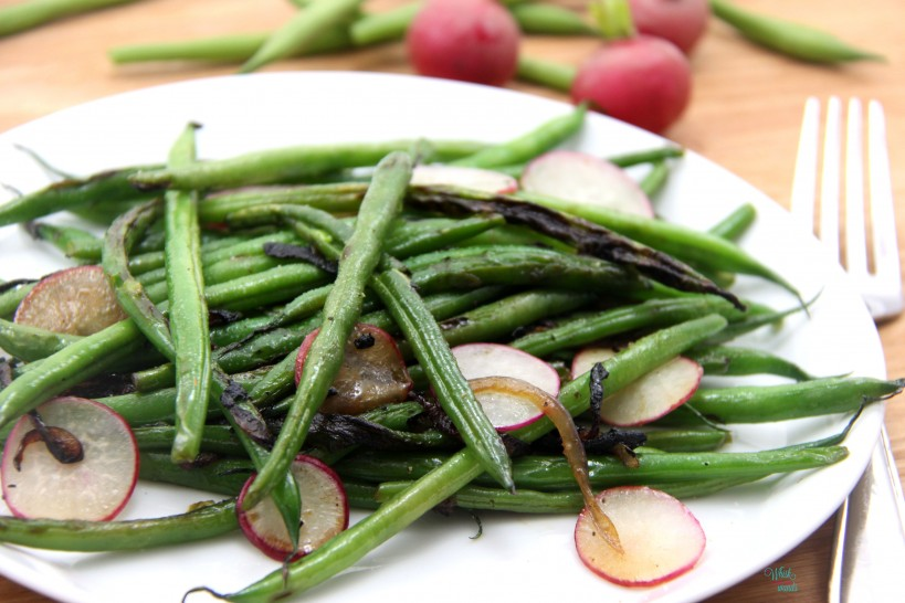 Green Bean and Caramelized Onion Salad -