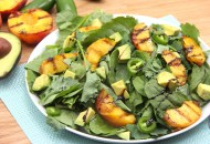 Grilled Peach and Avocado Salad