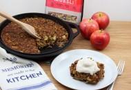 Easy as Apple Pie Cherry Muesli Bake