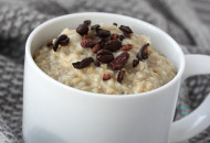 Barely Buzzed Oatmeal