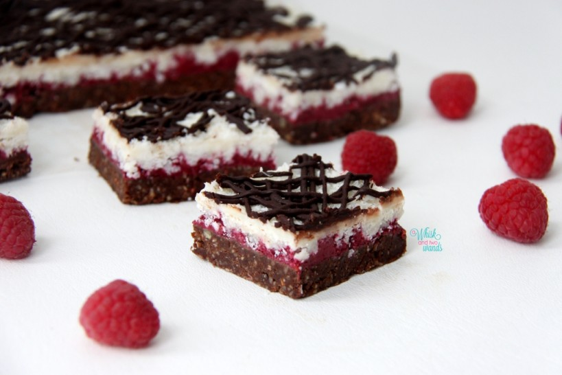 Raspberry Joy Bars
