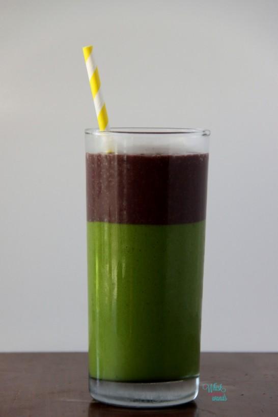 Tropical Acai Green Smoothie