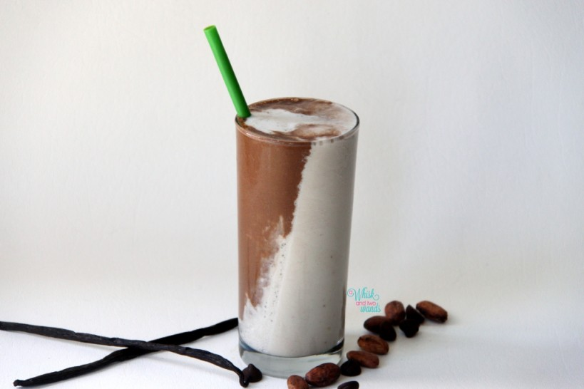 "Black and White Smoothie ""kids version"""