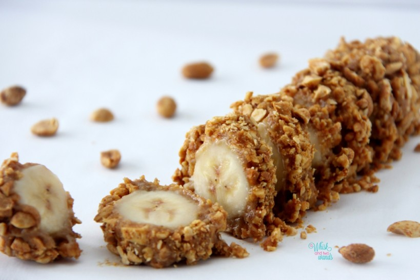 Salted Banana Nut Roll