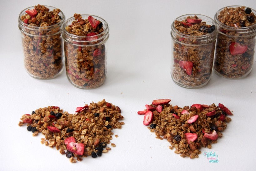 Summer Berry Granola