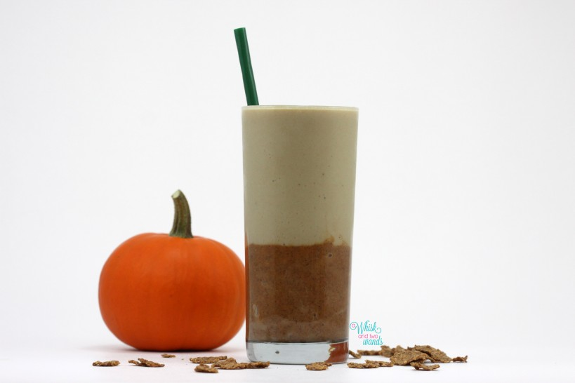 Pumpkin Cereal (Protein) Smoothie