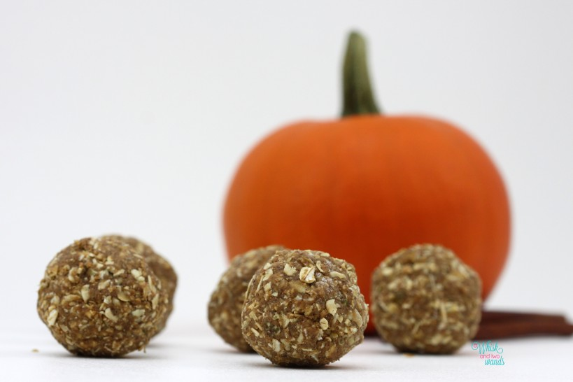 Pumpkin Spice Power Balls