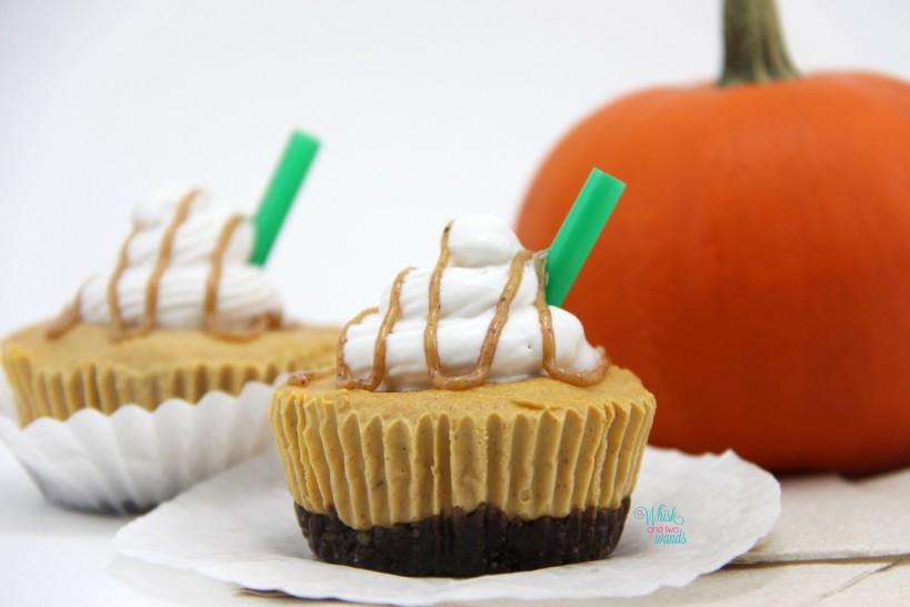 "Mini Pumpkin Spice Latte ""Cheesecakes"""