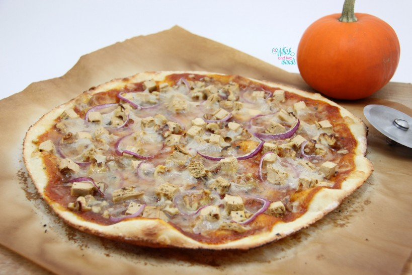 Pumpkin Chicken Pizza