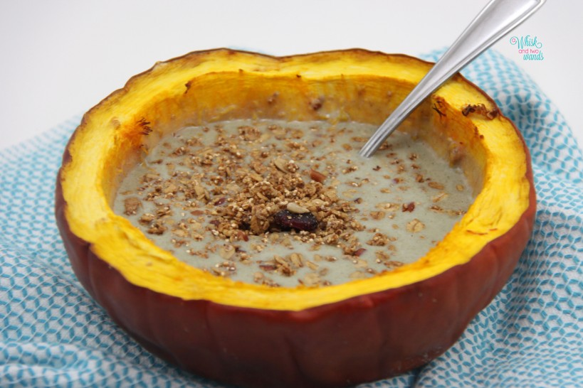 Pumpkin Protein Breakfast Bowl