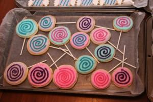 Sugar Cookies Lolipops