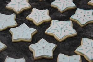 Sugar Cookies Snowflakes