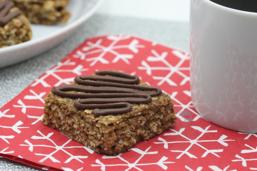Gingerbread PB Bars