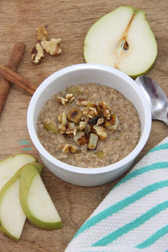 Perfect Pear Porridge