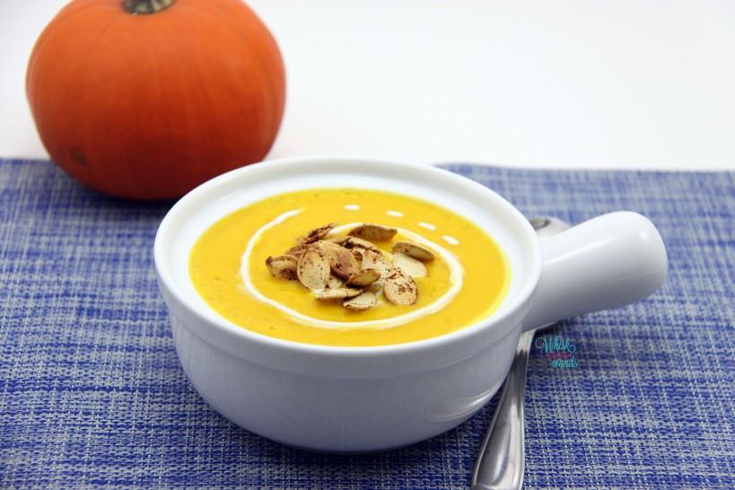Spicy Pumpkin Coconut Soup