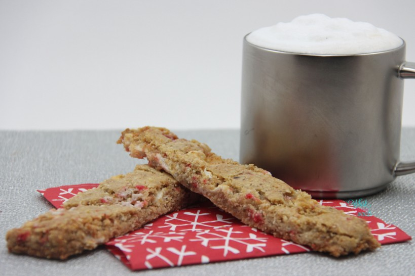 Marshmallow Peppermint Biscotti Brittle/Cookie