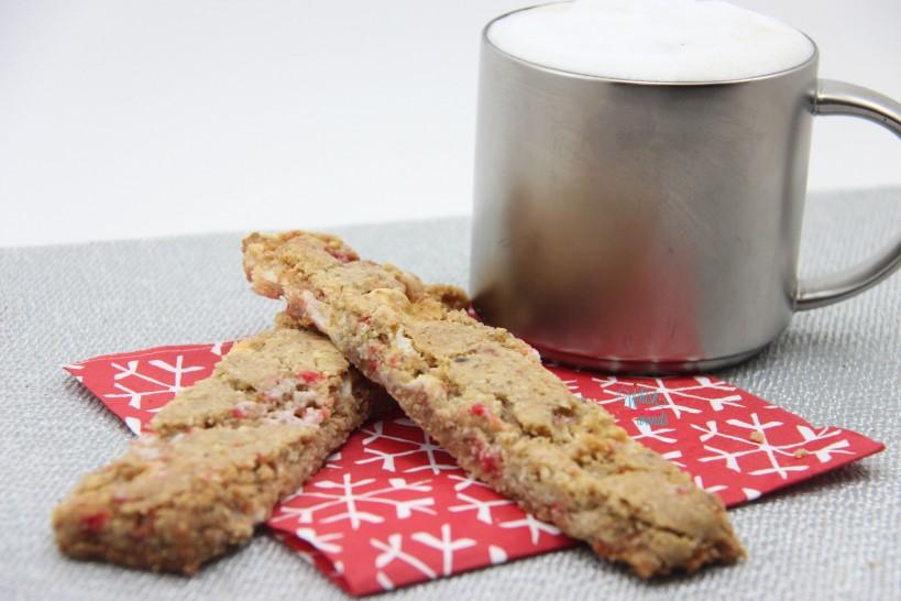 Marshmallow Peppermint Biscotti Brittle/Cookie