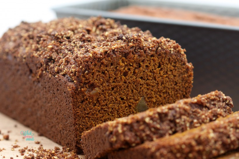 Ginger Chunk Gingerbread