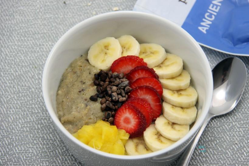 Banana Split Protein Oatmeal