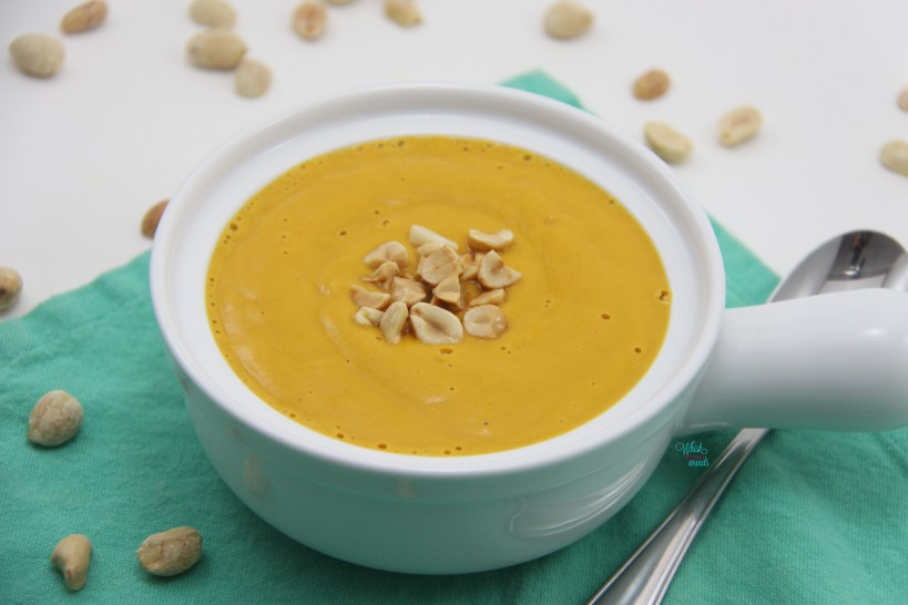 Spicy Peanut Butter Squash Soup