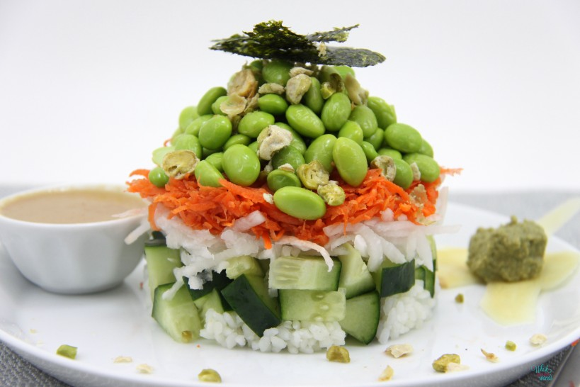 Deconstructed Sushi Salad