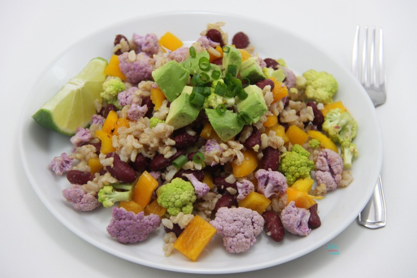 Cajun Cauliflower Rice Salad