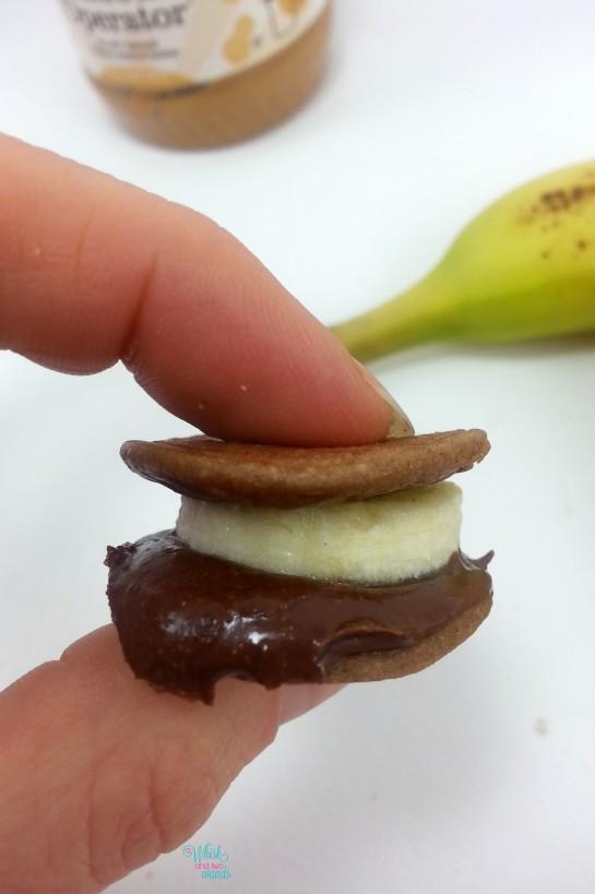 Chunky Monkey Protein Pancake Minis
