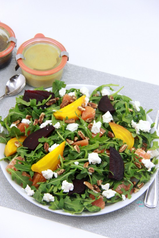 Orange You Glad You Said Beet Salad